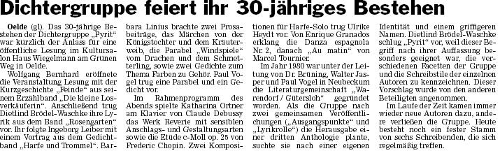 21 Pressebericht zum 27.08.2010