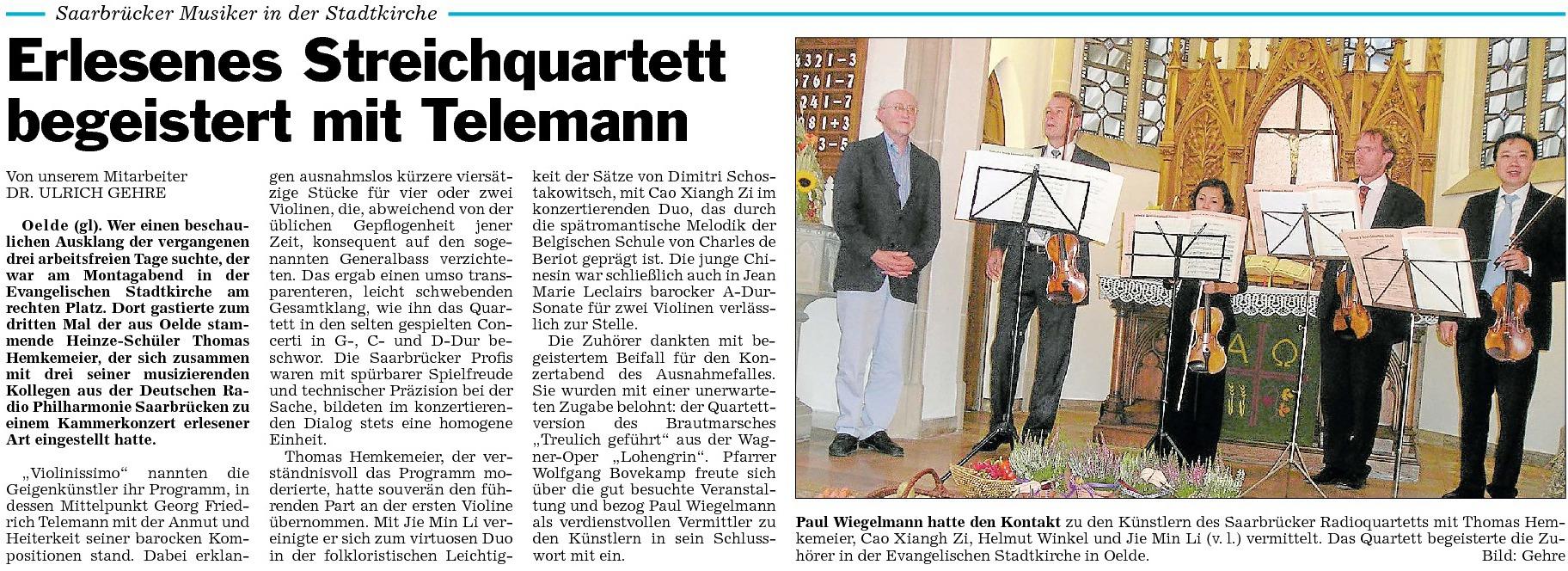 29a Presse 03.10.2011 Thomas