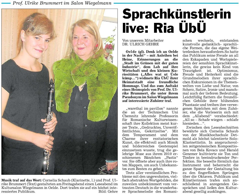 37 Pressebericht 20.07.2012 Prof.Brummert