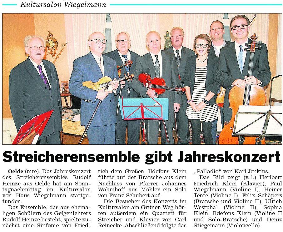 39 Pressebericht 11.11.2012 Streicher