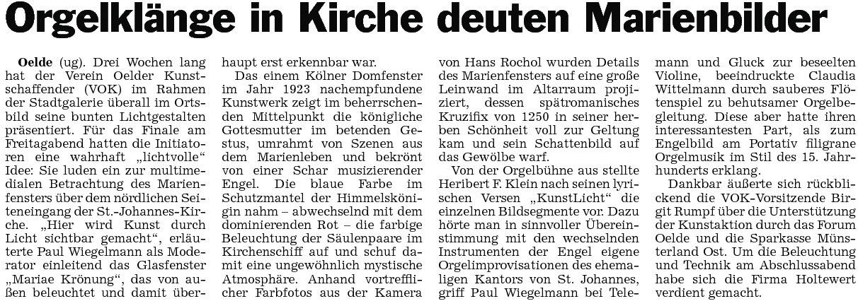 39a Pressebericht 14.11.2012 Kirche