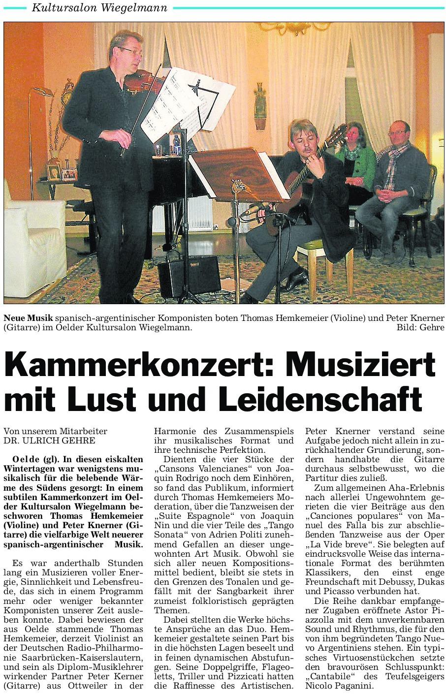 41 Pressebericht 22.02.2013 Thomas