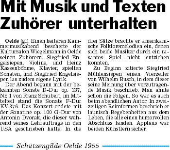 Pressebericht 13.11.2011